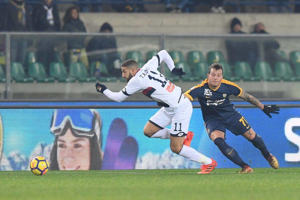 Lo scatto di Adel Taarabt (foto di Genoa CFC Tanopress)