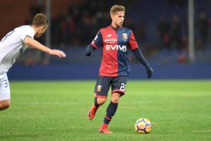 Federico Ricci in possesso palla (da Genoa CFC Tanopress)