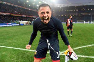 L'urlo del guerriero inca (foto di Genoa CFC Tanopress)
