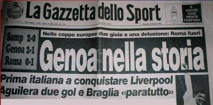 Genoa-Liverpool