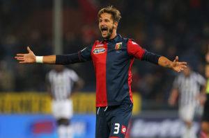 Luca Antonini, dopo il gol alla Juventus (Photo by Marco Luzzani/Getty Images)