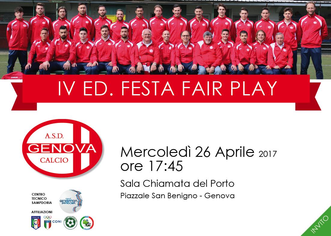 Premio Batini fairplay 2017