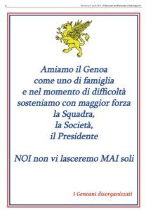 La prima pagina odierna del Giornale della Liguria