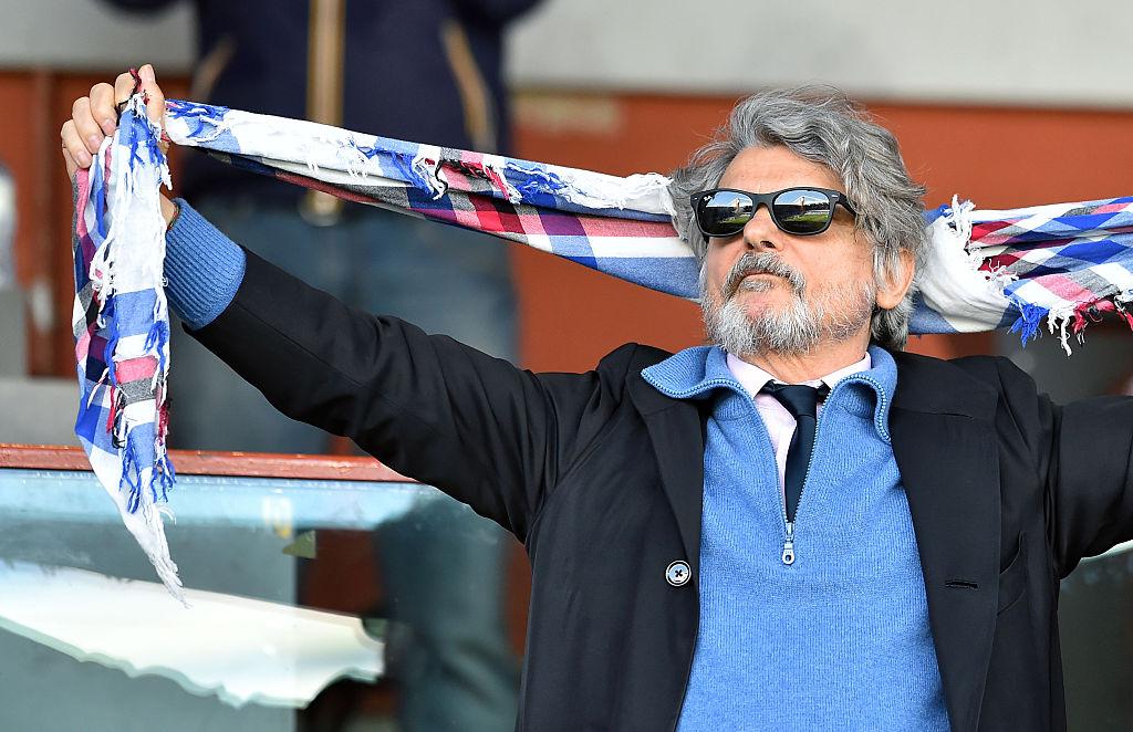 Calcio: sequestrati beni al presidente della Sampdoria, Massimo Ferrero
