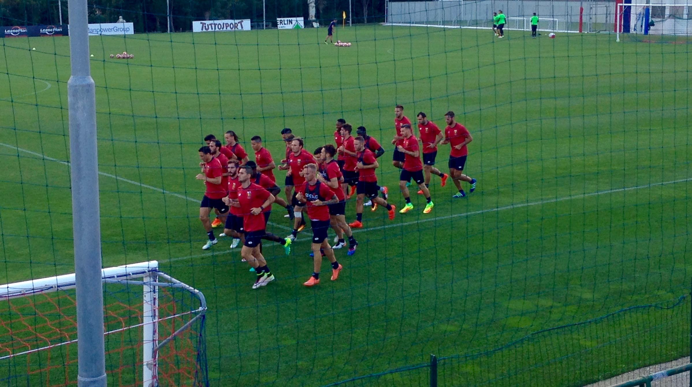 Genoa allenamento Juric