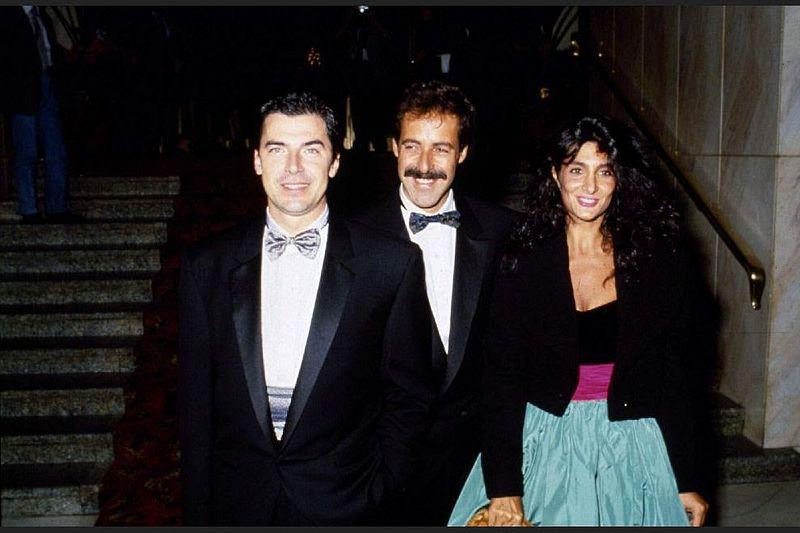 Il Trio Solenghi (a sinistra), Lopez e Marchesini (Foto Wikipedia)