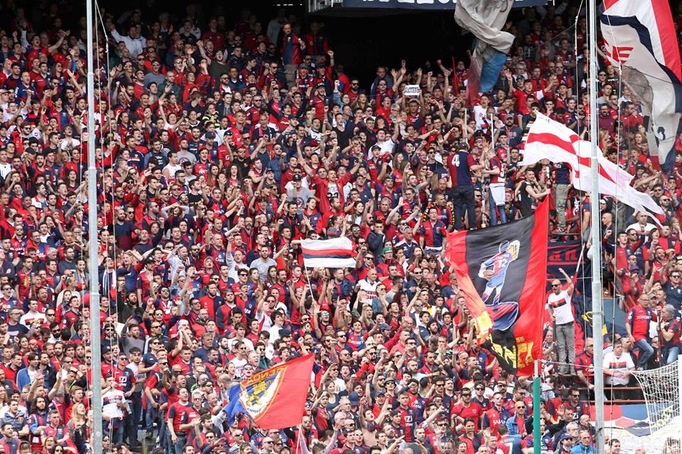 Genoa-Lecce Genoa Gradinata Nord