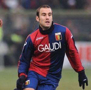 Rodrigo Palacio autore di un gol in Genoa-Atalanta 2-0 (Foto Massimo Cebrelli/Getty Images)