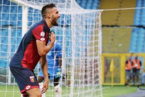 Pavoletti gol in Genoa-Lecce