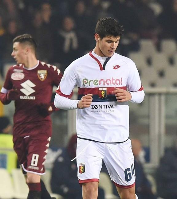 L'esordio in serie A di Pellegri in Torino-Genoa (Foto Getty Images)