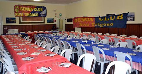 Genoa Club Riva trigoso cena
