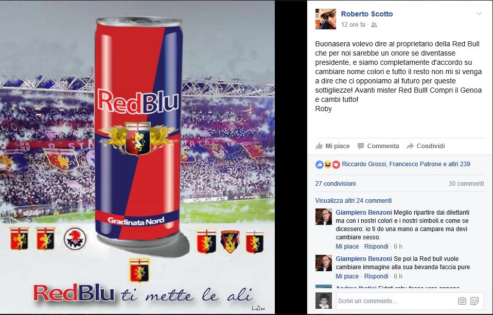 Scotto Red Bull Genoa