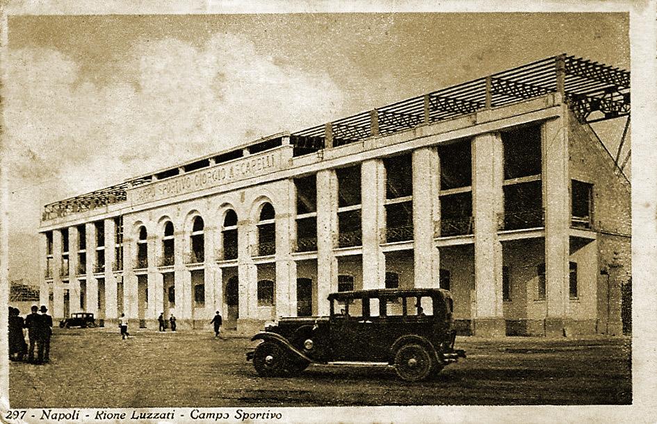 Lo stadio Ascarelli di Napoli (Wikipedia)