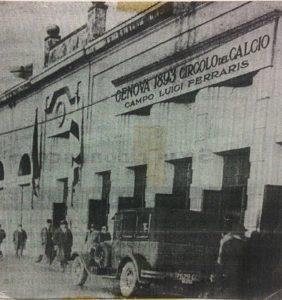 Lo stadio Luigi Ferraris negli anni '30 (Wikipedia)