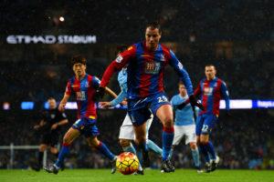 Marouane Chamakh con la maglia del Crystal Palace (Foto Shaun Botterill/Getty Images)