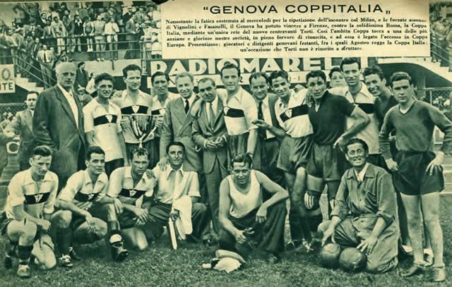 Genoa Coppa Italia 1937