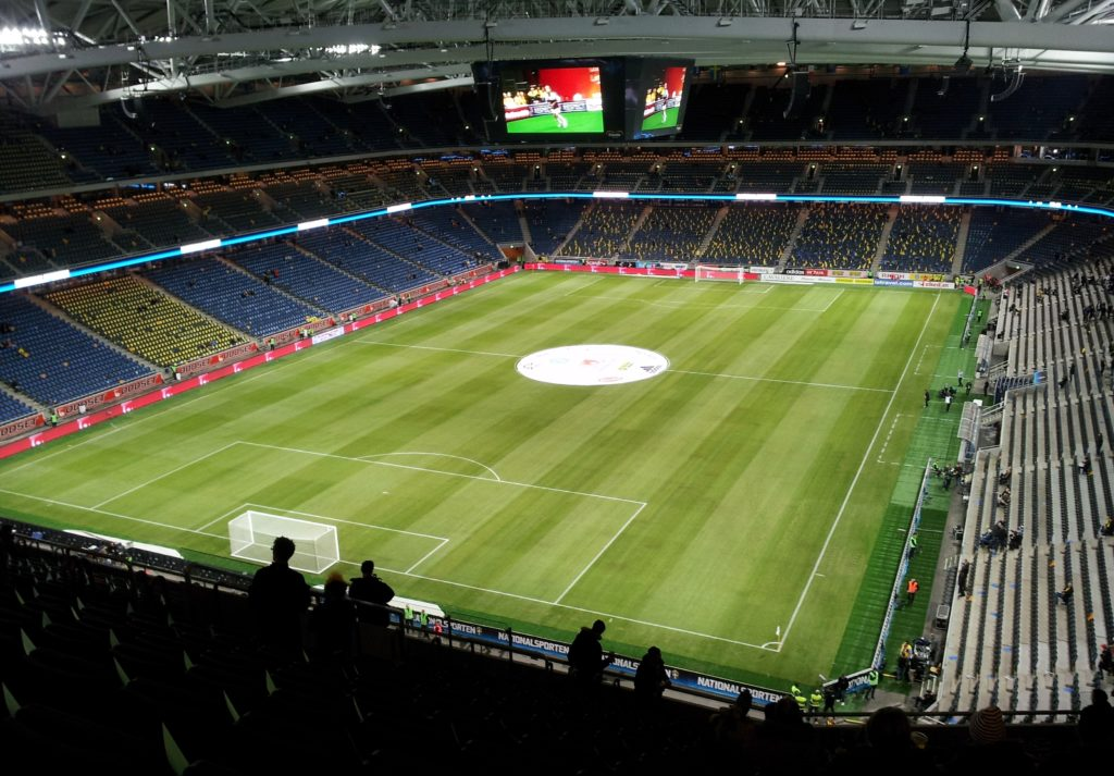 L'interno della Friends Arena (Foto Wikipedia)