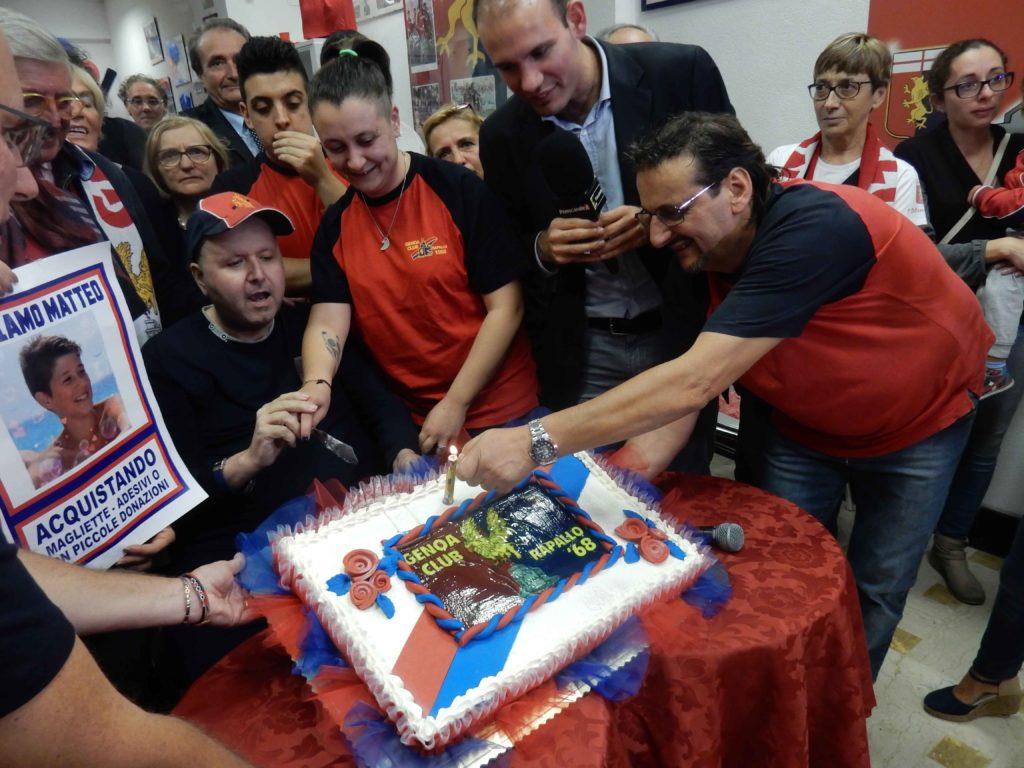 Inaugurazione Genoa club Rapallo 2