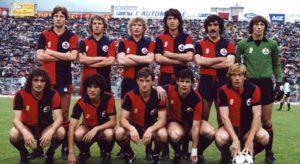 Una formazione del Genoa 1980-81 che fu promosso in serie A (Foto Wikipedia)