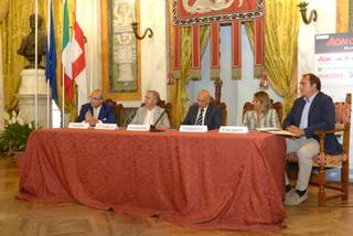 Presentazione Aon open challenger Messina a Palazzo Tursi