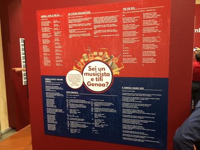 La mostra Semmo do Zena. Tutta un'altra musica (Foto Pianetagenoa1893.net)