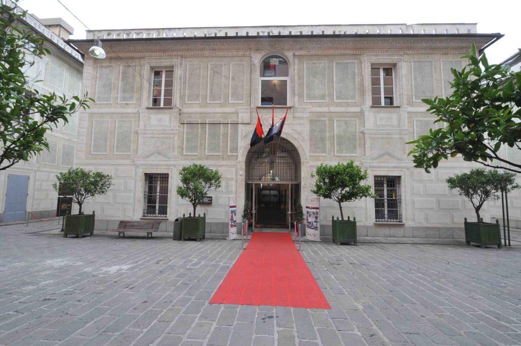 Palazzina San Giobatta, sede del Museo del Genoa al Porto Antico di Genova (Foto Genoa cfc Tanopress)