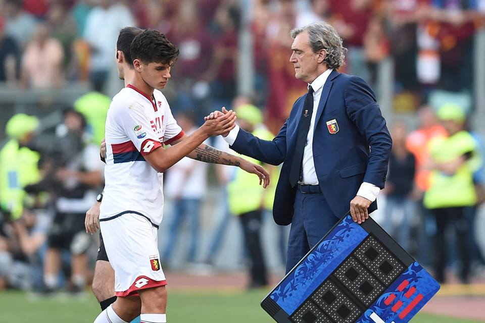 Pietro e Marco Pellegri (Foto Genoa cfc Tanopress)