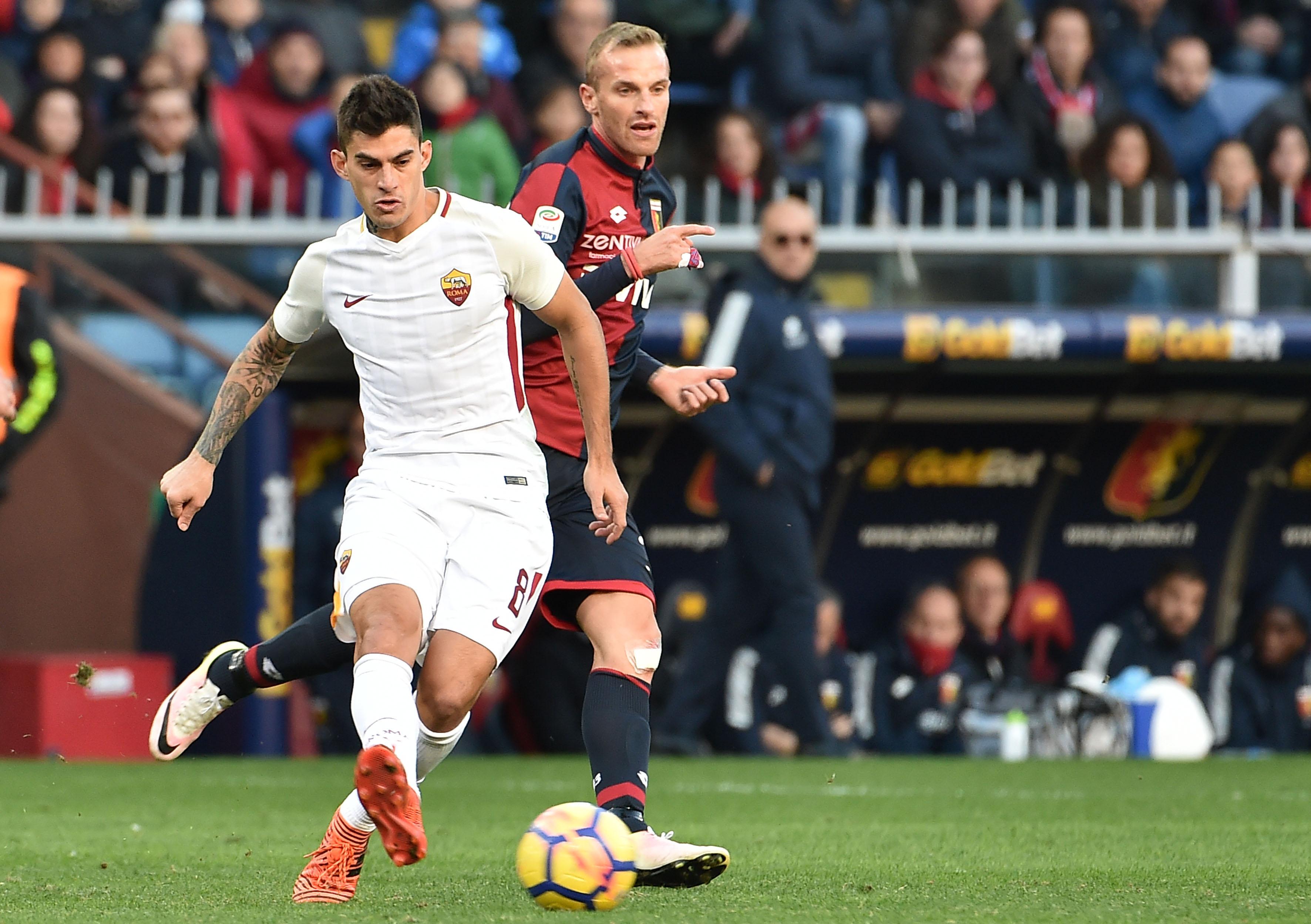 Infortunio Perotti: stop in allenamento, in dubbio per il Genoa