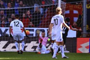 Suso segna l'1-0 in Genoa-Palermo il 17 gennaio 2016 (Foto Tullio M. Puglia/Getty Images)