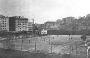 Vista dello stadio Luigi Ferraris nel 1911 (Wikipedia)