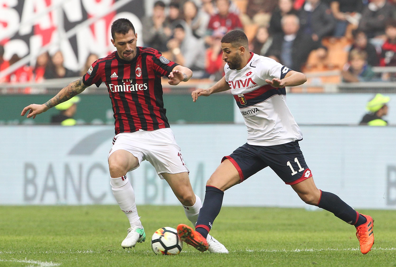 Rigoni alla carica contro il Milan (Foto Marco Luzzani/Getty Images)