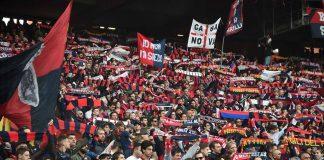 Genoa-Hellas Verona Gradinata Nord