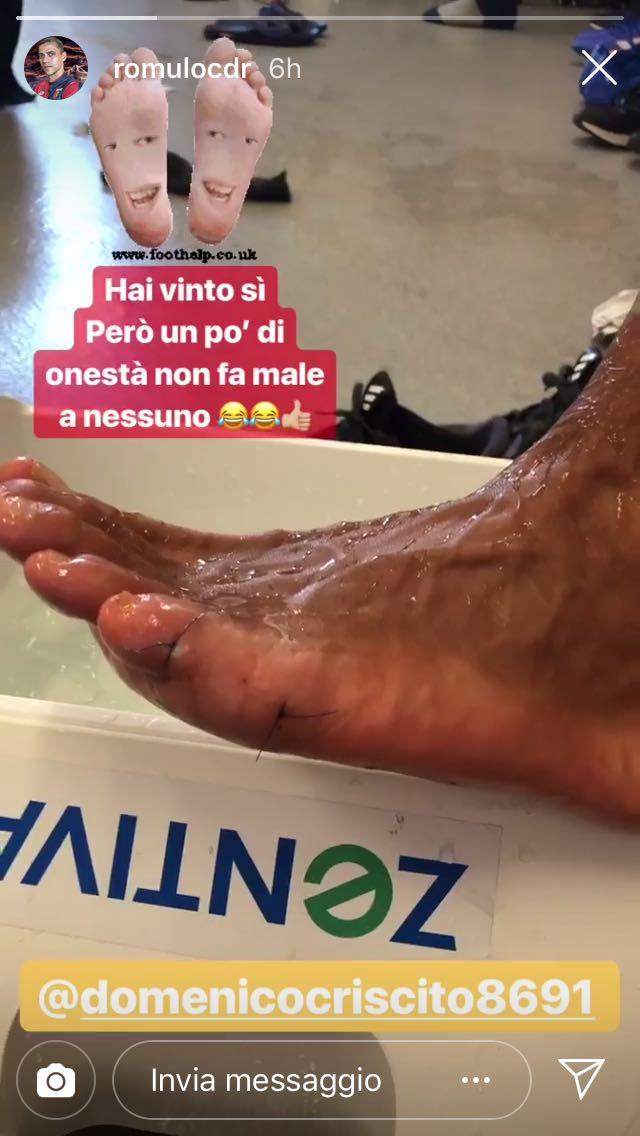 Criscito piede