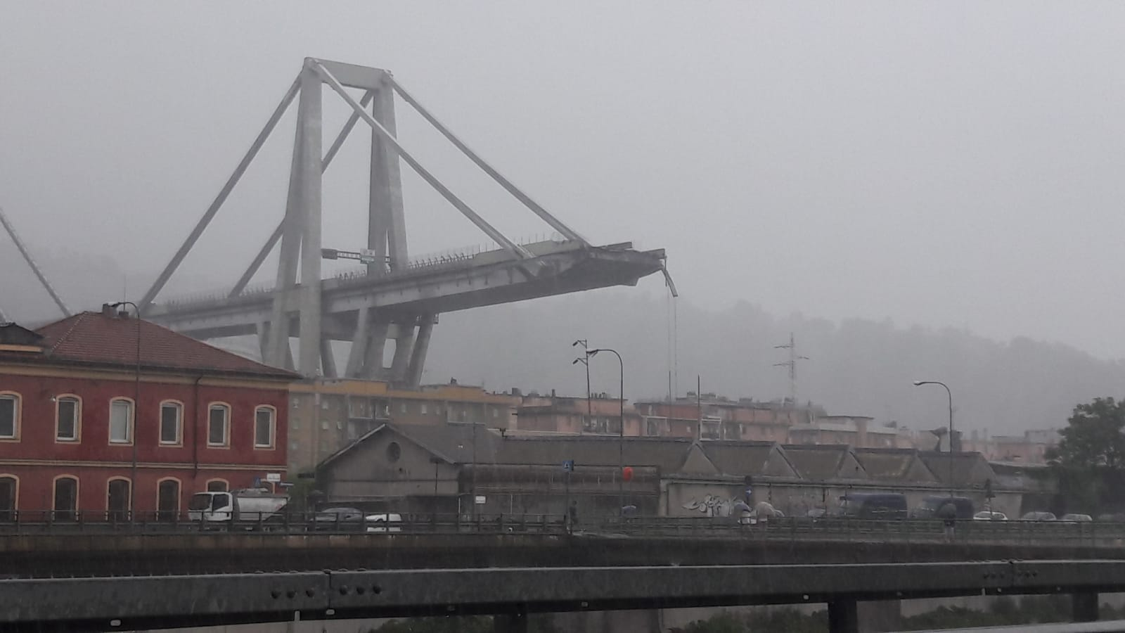 Maurizio Genoa Genova Ponte Morandi