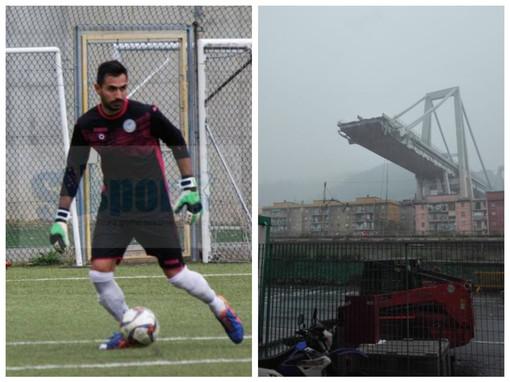 Crollo ponte a Genova, il portiere sopravvissuto: