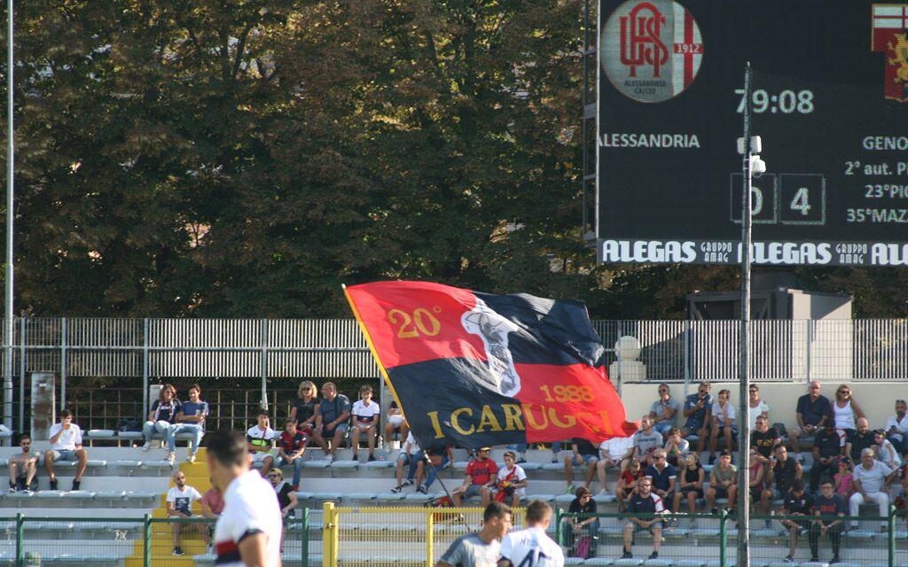 Genoa Genoani tifo tifosi