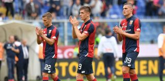 Genoa-Parma Genoa Piatek Favilli
