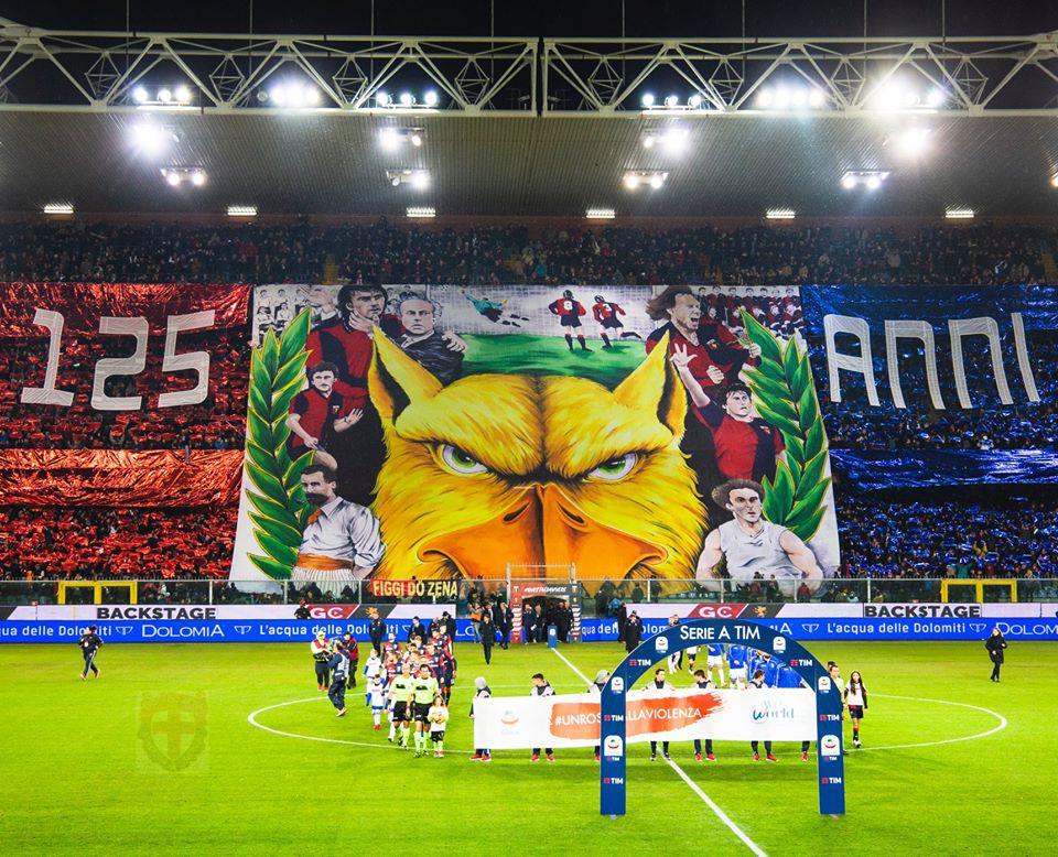 Genoa Figgi do Zena derby Ferraris