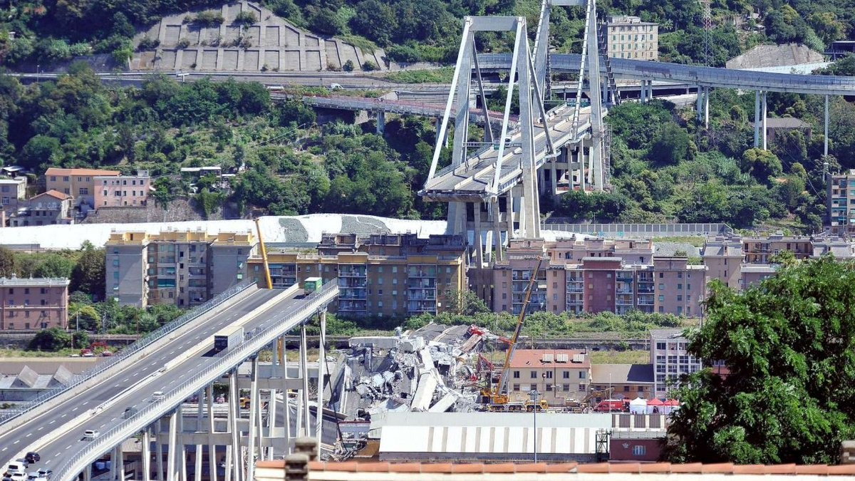 Genua Ponte Morandi