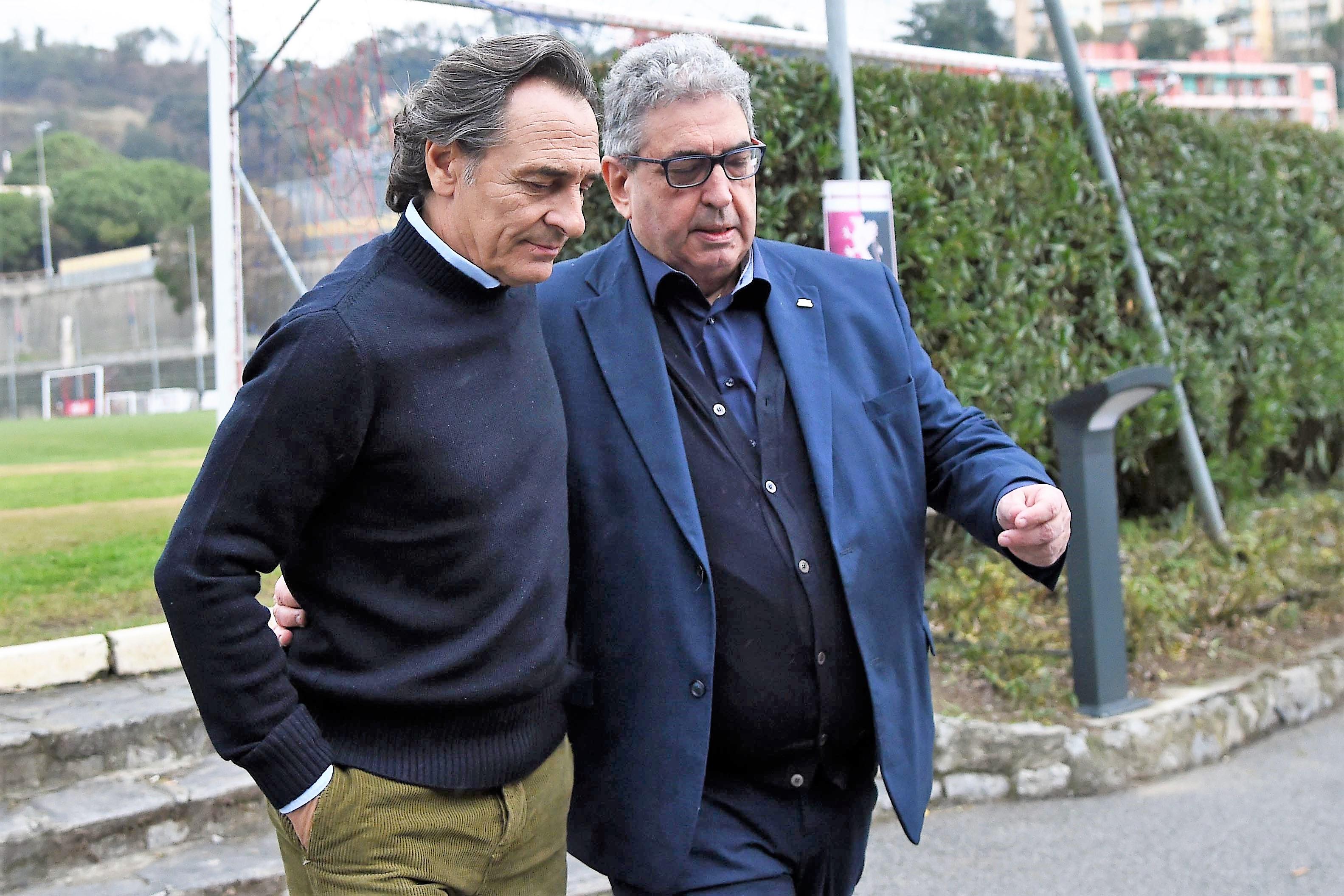Perinetti Prandelli Genoa