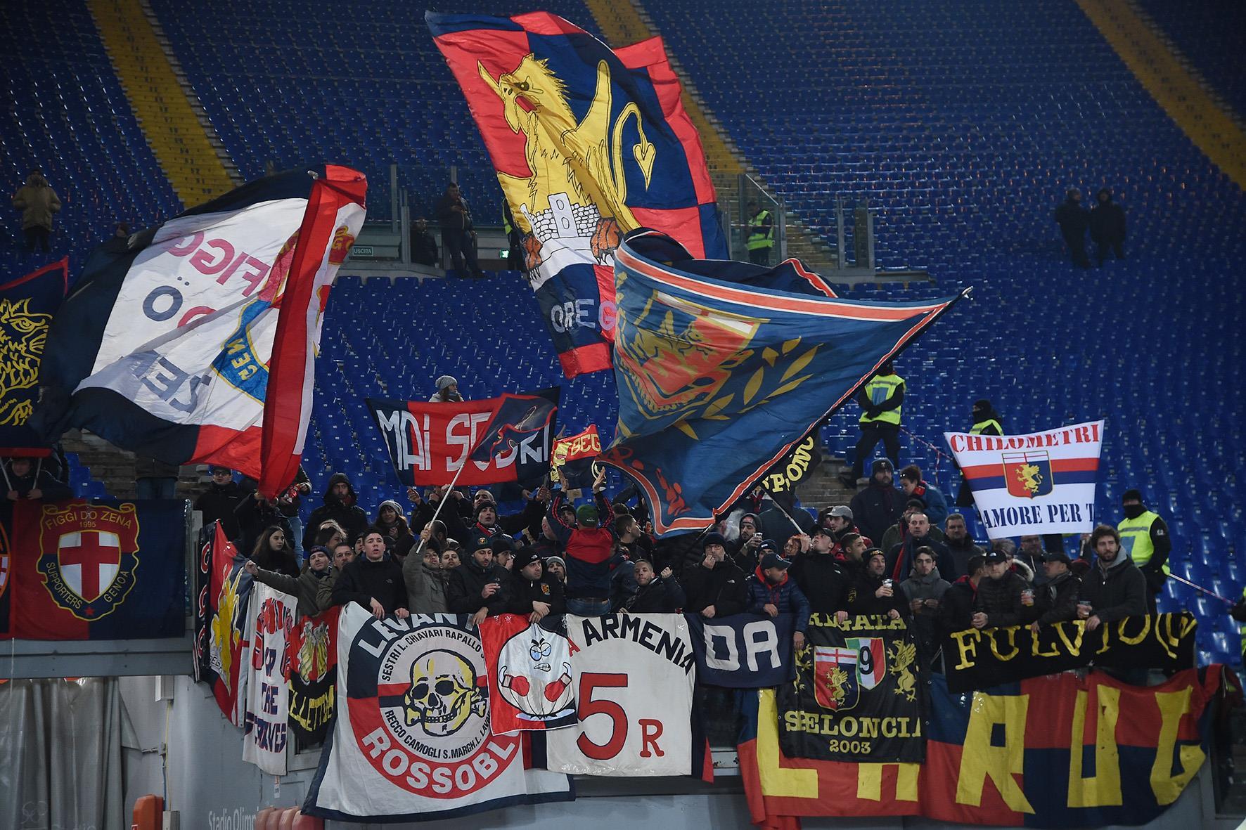 Genoa Lazio-Genoa