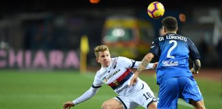 Rolon Di Lorenzo Genoa-Lazio