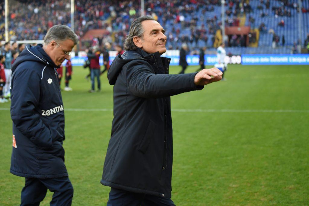 Prandelli: «Rispetto per il Chievo, ma noi siamo il Genoa ...