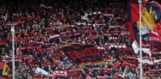 Genoa Gradinata Nord Genoa-Lazio