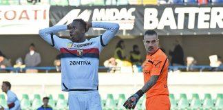 Kouamé Sorrentino Chievo Verona-Genoa