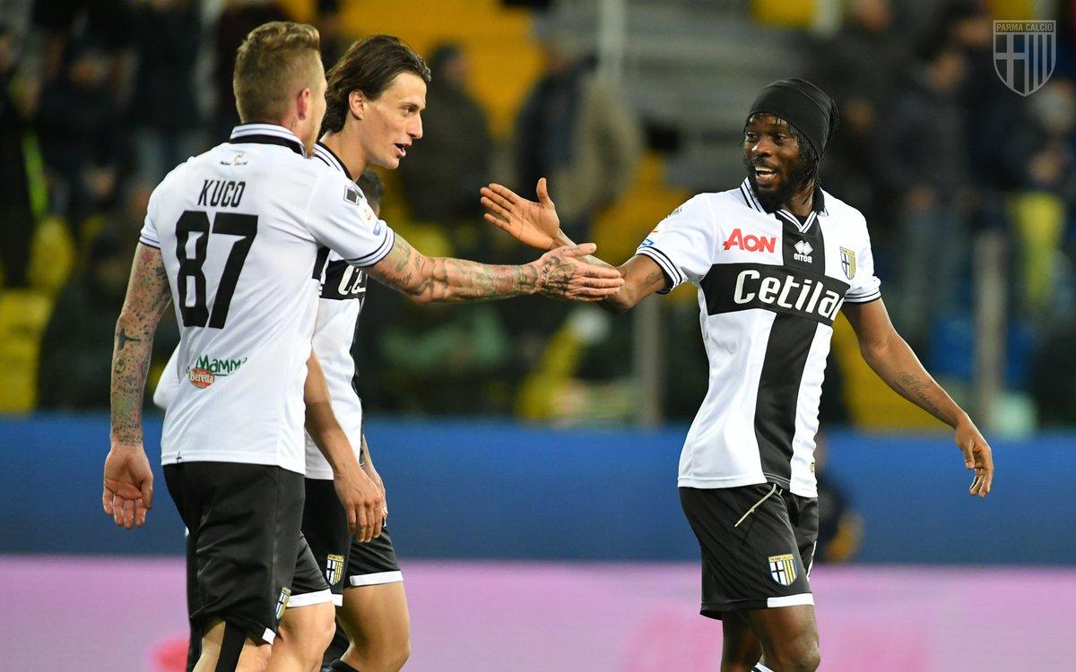 Inglese Kucka Gervinho Parma Genoa