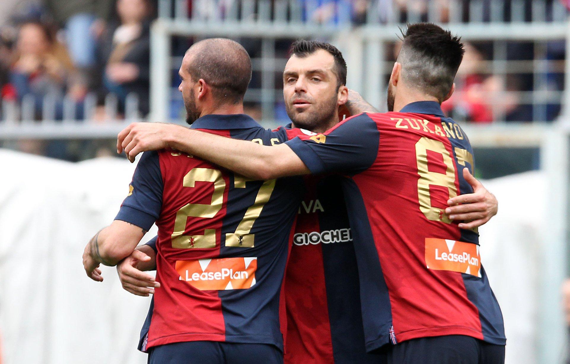 Pandev Sturaro Zukanovic Genoa-Juventus