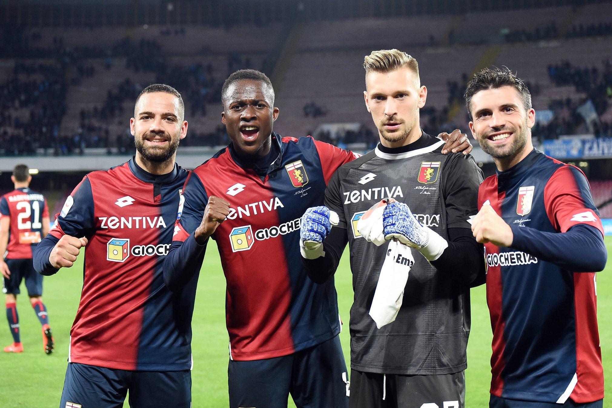 Napoli-Genoa Bessa Radu Biraschi Kouamé