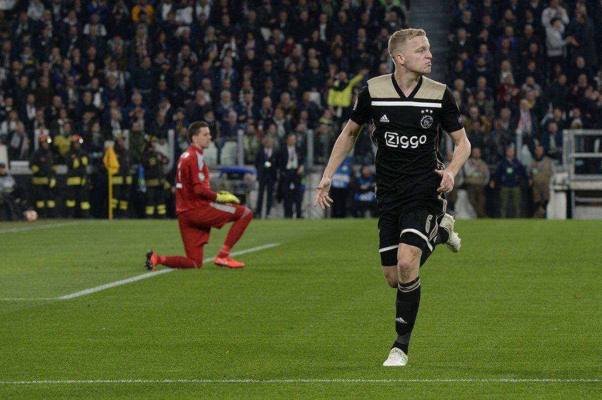 Juventus-Ajax van de Beek