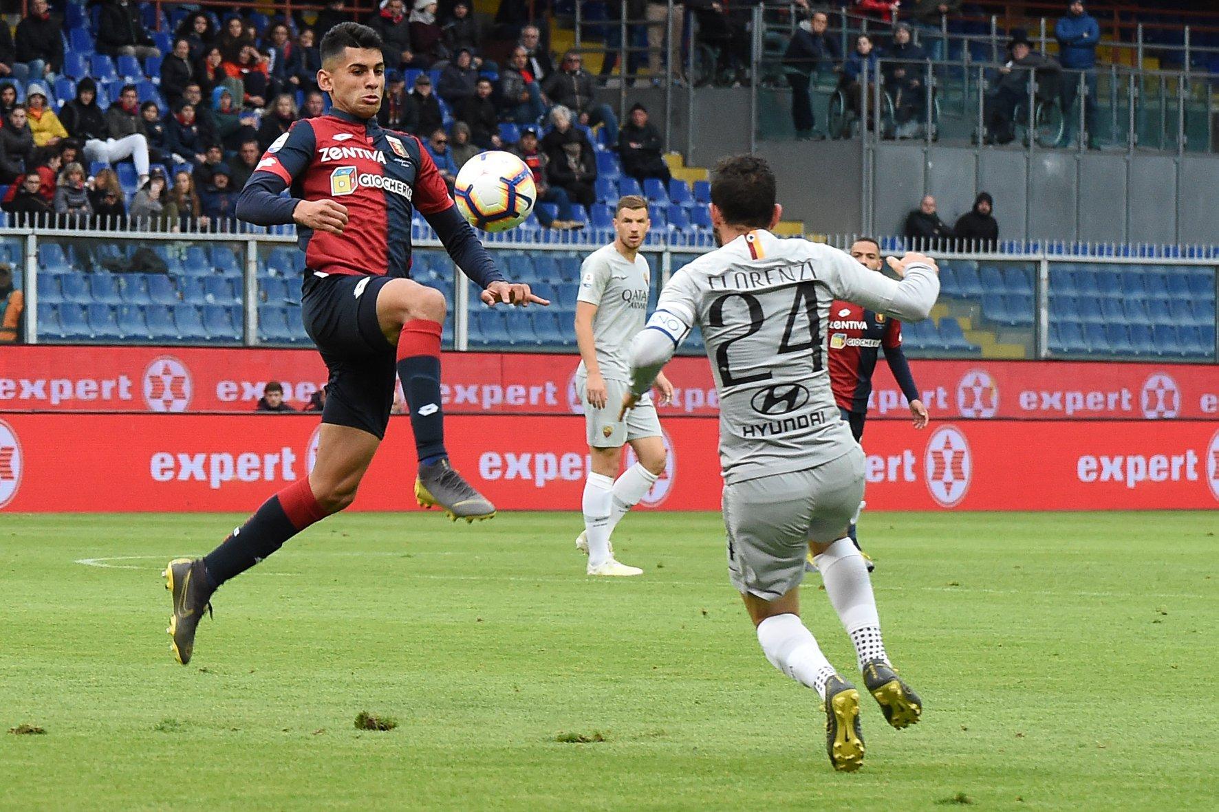 Romero Florenzi Genoa